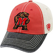 Top of the World Men's Maryland Terrapins Red/White/Black Off Road Adjustable Hat