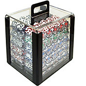 Trademark Poker 1,000 Aces Chip Poker Set and Acrylic Case