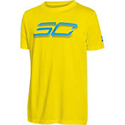 Under Armour Boys' SC30 Branded Basketball Graphic T-Shirt