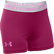 Under Armour Girls' 3'' Armour Shorts
