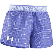 Under Armour Toddler Girls' Glazed Dot Play-Up Shorts