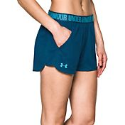 Under Armour Women's 3'' Mesh Play Up Shorts