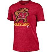 Under Armour Women's Maryland Terrapins Red Triblend T-shirt