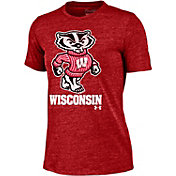 Under Armour Women's Wisconsin Badgers Red Triblend T-shirt