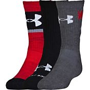 Under Armour Kids' Next Statement 2.0 Crew Socks 3 Pack