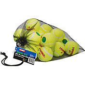Tourna Low Compression Green Dot Tennis Ball - 18 Pack Mesh Bag