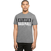 '47 Men's Atlanta Braves Grey Club T-Shirt