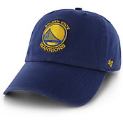 '47 Men's Golden State Warriors Royal Clean-Up Adjustable Hat