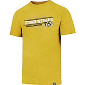 '47 Men's Nashville Predators Slogan Club Gold T-Shirt