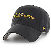 '47 Women's Pittsburgh Pirates Cohasset Clean Up Black Adjustable Hat
