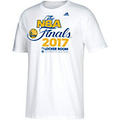 adidas Men's 2017 Western Conference Champions Golden State Warriors Locker Room White T-Shirt
