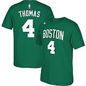 adidas Youth Boston Celtics Isaiah Thomas #4 Kelly Green T-Shirt