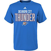 adidas Youth Oklahoma City Thunder Blue T-Shirt