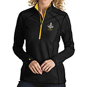 Antigua Women's 2017 NHL Stanley Cup Champions Pittsburgh Penguins Tempo Quarter-Zip Pullover Shirt