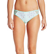 CALIA by Carrie Underwood Women's Lace Pieced Printed Bikini Bottoms