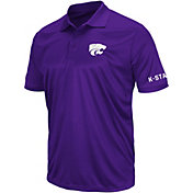 Colosseum Athletics Men's Kansas State Wildcats Purple Performance Polo