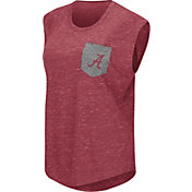 Colosseum Athletics Women's Alabama Crimson Tide Crimson Pocket Tank Top