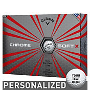 Callaway Chrome Soft X Personalized Golf Balls