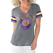 G-III For Her Women's Orlando City Triple Play Grey T-Shirt