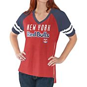 G-III For Her Women's New York Red Bulls Fastball Red T-Shirt