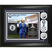 Highland Mint New York Yankees Derek Jeter Jersey Retirement Ceremony Silver Coin Photo Mint