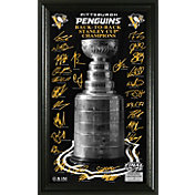 Highland Mint 2017 Stanley Cup Champions Pittsburgh Penguins 'Trophy' Signature Photo