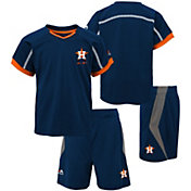 Majestic Boys' Houston Astros Cool Base Legacy Shorts & Top Set