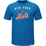 Majestic Men's New York Mets Stoked Royal T-Shirt