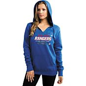 Majestic® Women's New York Rangers Pullover Blue Hoodie