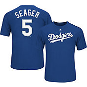 Majestic Youth Los Angeles Dodgers Corey Seager #5 Royal Performance T-Shirt