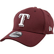 New Era Men's Texas Rangers 39Thirty City Pride Maroon/White Flex Hat