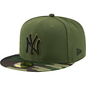 New Era Men's New York Yankees 59Fifty 2017 Memorial Day Camo Authentic Hat