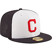 New Era Youth Cleveland Indians 59Fifty Alternate White/Navy Authentic Hat