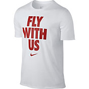 Nike Men's Fly With Us Dry Graphic Basketball T-Shirt