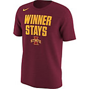 Nike Men's Iowa State Cyclones Cardinal 'Winner Stays' Selection T-Shirt