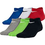 Nike Boys' Performance Cushion No-Show Socks 6 Pack