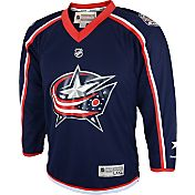 Reebok Youth Columbus Blue Jackets Blank Replica Home Jersey