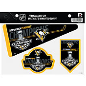 Rico 2017 Stanley Cup Champions Pittsburgh Penguins Magnet Set