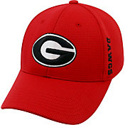 Top of the World Men's Georgia Bulldogs Red Booster Plus 1Fit Flex Hat