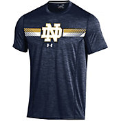 Under Armour Men's Notre Dame Fighting Irish Navy Training T-Shirt