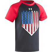 Under Armour Toddler Boys' American Batter Raglan T-Shirt
