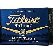 Titleist NXT Tour Golf Balls – Prior Generation