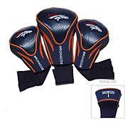Team Golf Denver Broncos 3-Pack Contour Headcovers