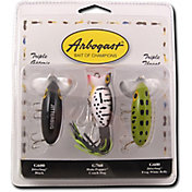 Arbogast Triple Threat Jitterbug/Hula Popper Kit