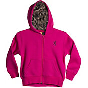 Browning Boys' Toddler Full Zip Hoodie