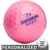 Bridgestone Lady Precept Optic Pink Personalized Golf Balls