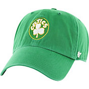 '47 Men's Boston Celtics Hardwood Classic Clean Up Kelly Green Adjustable Hat