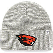 '47 Men's Oregon State Beavers Heathered Grey Brain Freeze Cuffed Knit