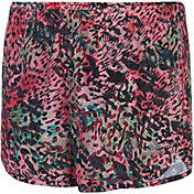 adidas Little Girls' Breakaway Print Woven Shorts
