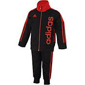 adidas Infant Boys' Tricot Jacket and Jogger Pants Set